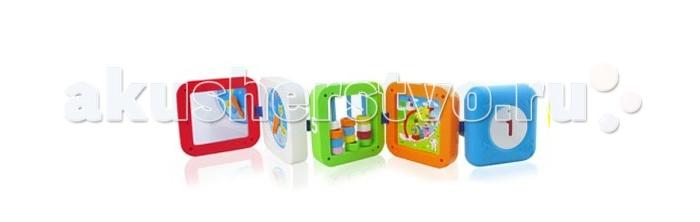 Развивающие игрушки S+S Toys Развивающий кубик набор развивающий tolo toys динозавры