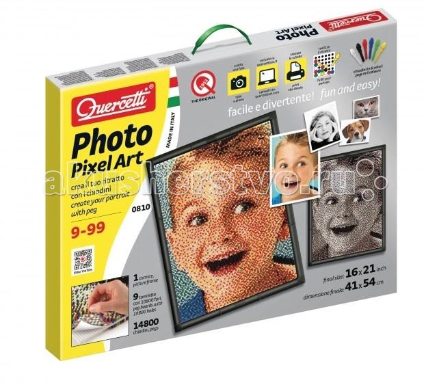 Купить Quercetti Пиксельная мозаика Любимое фото (14800 элементов) в интернет магазине. Цены, фото, описания, характеристики, отзывы, обзоры