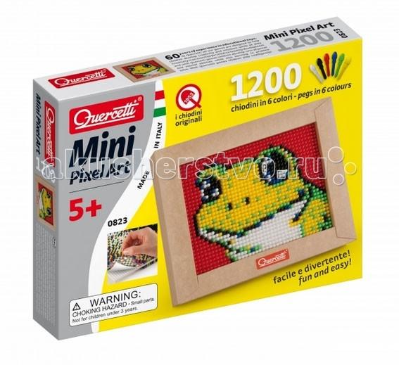 Quercetti Пиксельная мозаика Лягушонок (1200 элементов)