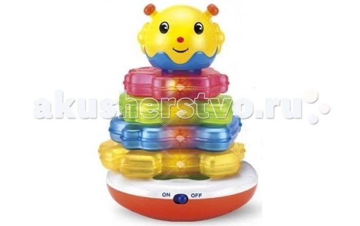 Развивающие игрушки S+S Toys Пирамида Солнышко развивающие игрушки unimax волшебная развивающая пирамида