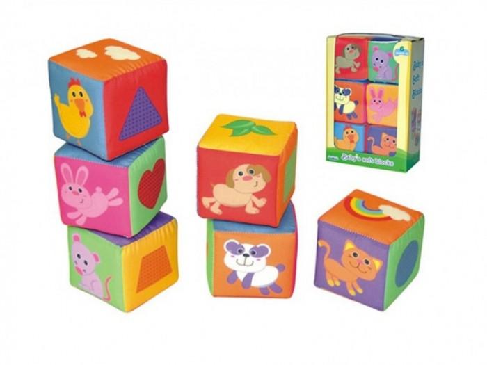 Развивающие игрушки S+S Toys Мягкие кубики развивающие игрушки tolo toys пещерный мальчик