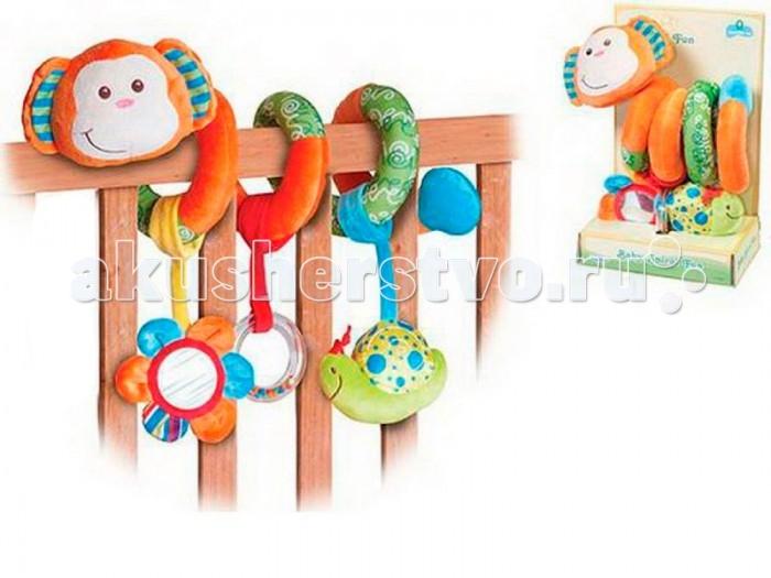 Дуги для колясок и автокресел S+S Toys Развивающая игрушка Мягкая пружинка автолюльки