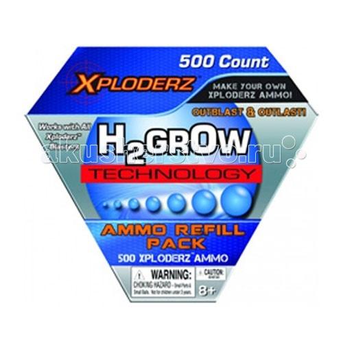 Игрушечное оружие Xploderz Шарики для стрельбы 500 шт. игрушечное оружие xploderz x буря 1000
