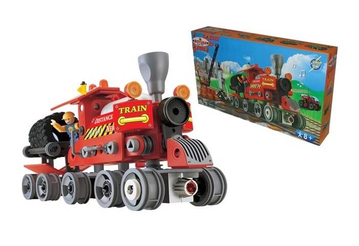 Железные дороги S+S Toys Паровозик вездеход, Железные дороги - артикул:450929