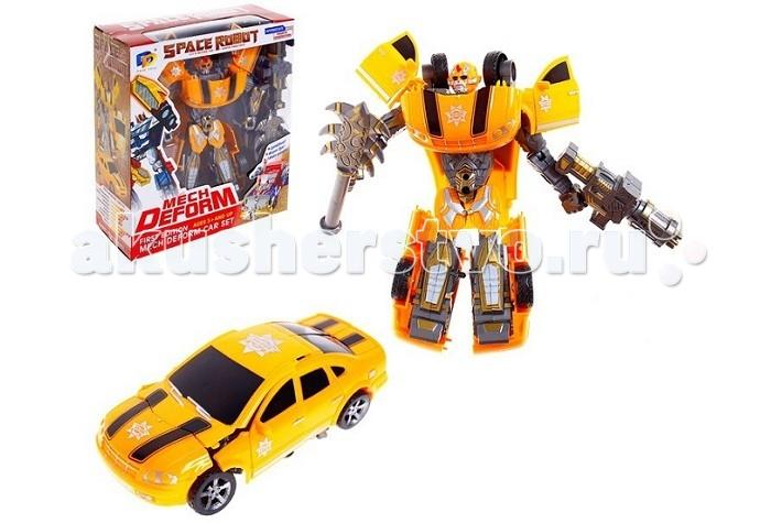 Роботы S+S Toys Робот-Трансформер 1toy робот трансформер звездный защитник самолет