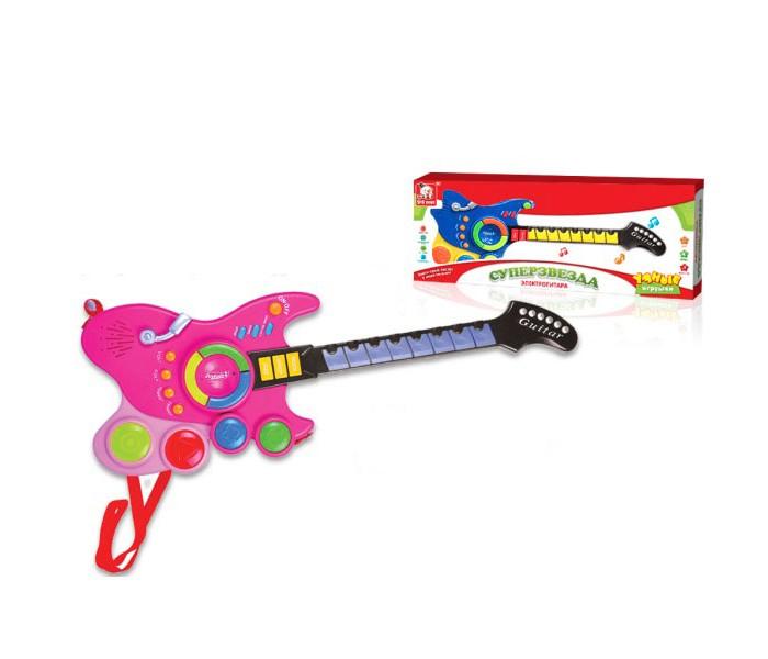 Музыкальные игрушки S+S Toys Гитара игрушки для ванны tolo toys набор ведерок квадратные
