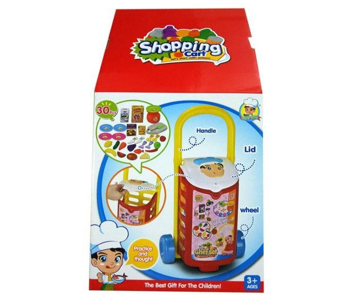 Ролевые игры S+S Toys Набор посуды в тележке тележка для фляги в твери