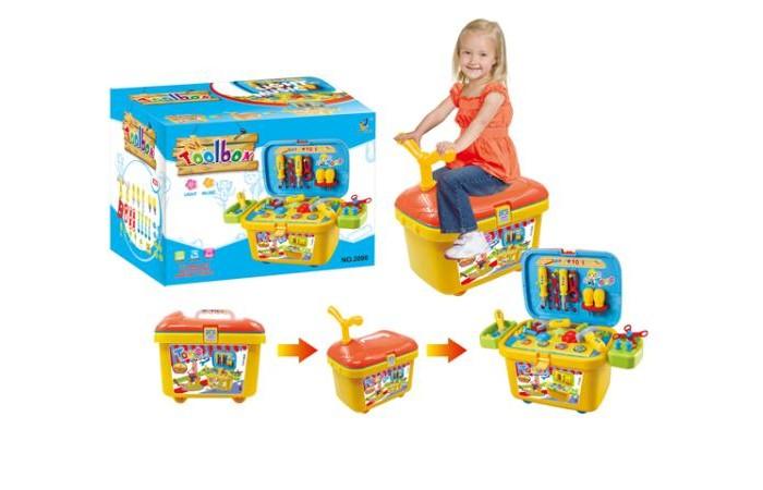 Ролевые игры S+S Toys Набор инструментов в тележке s s toys игровой набор с куклой magic pegasus цвет розовый
