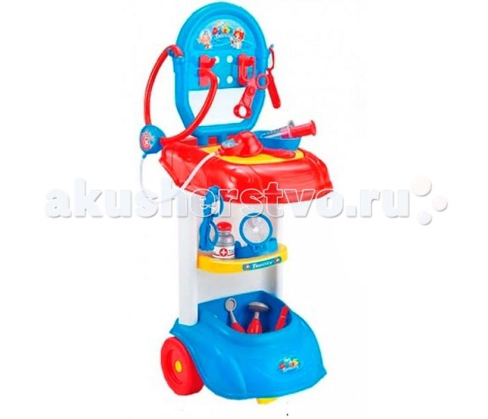 Ролевые игры S+S Toys Игровой центр Столик доктора набор доктора s s toys ej14672r сумочка