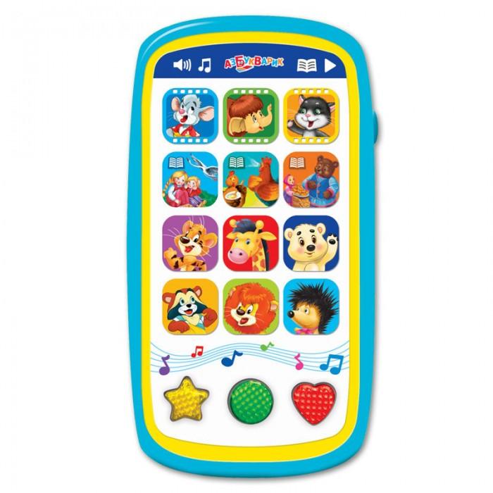 Электронные игрушки Азбукварик Мультики и сказки (Мультиплеер с огоньками) азбукварик золушка и другие сказки говорящие сказки