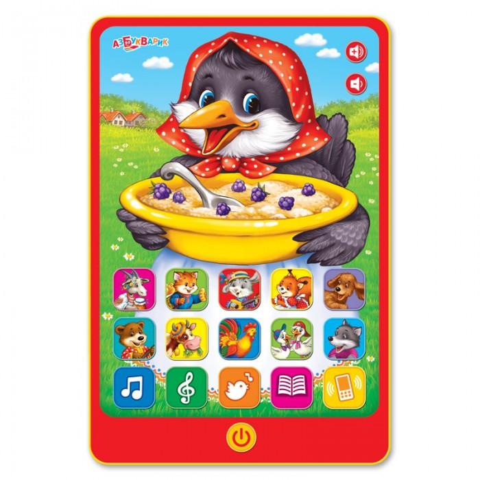 Электронные игрушки Азбукварик Сорока-ворона (Говорящий планшетик) полет ворона