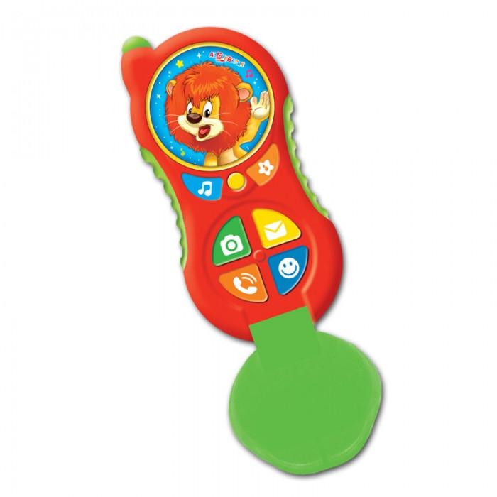 Электронные игрушки Азбукварик Телефончик Львенка (Алло-алло) цена 2017