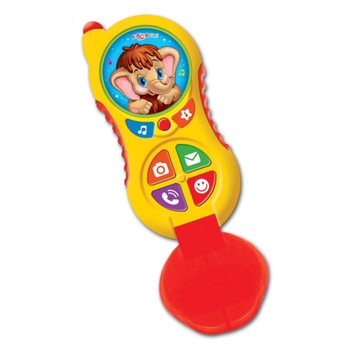 Электронные игрушки Азбукварик Телефончик Мамонтенка (Алло-алло) цена 2017