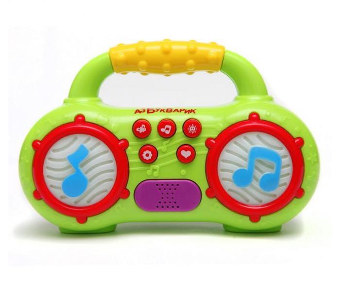 Электронные игрушки Азбукварик Магнитофончик Мульти-Пульти