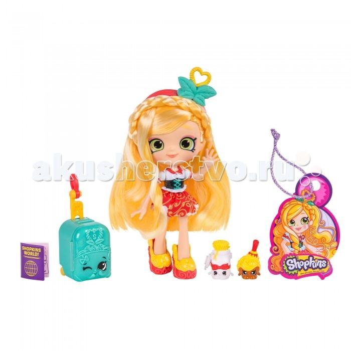 Игровые наборы Shopkins Игровой набор Кукла Сью Спагетти Путешествие в Европу игровой набор маленькая кукла принцесса и ее друг в ассорт