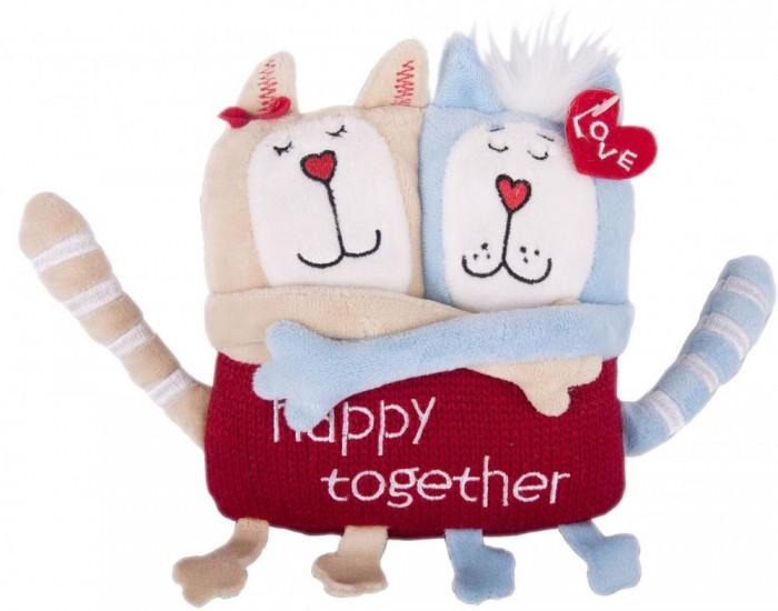 Мягкая игрушка Gulliver Кот и кошка Счастливы вместе 15 см