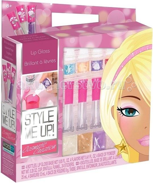 для губ Наборы для творчества Wooky Style Me Up Ультрамодный блеск для губ