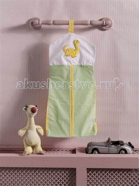 Постельные принадлежности , Карманы и панно Kidboo Прикроватная сумка Baby Dinos арт: 45305 -  Карманы и панно