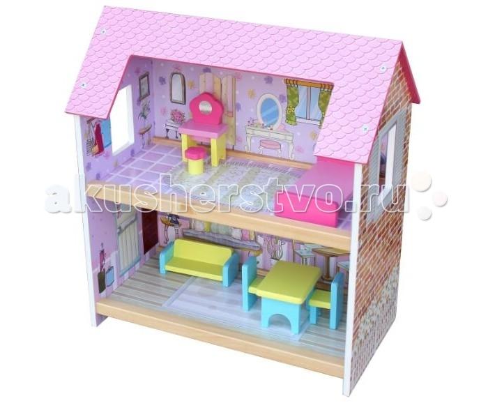 Кукольные домики и мебель Zhejiang Taixing Childs Toys Co Домик для кукол малый, Кукольные домики и мебель - артикул:453494