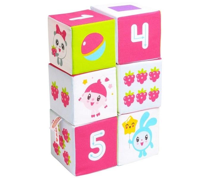 Купить Развивающие игрушки, Развивающая игрушка Мякиши Кубики Малышарики Учим Формы, Цвет и Счёт