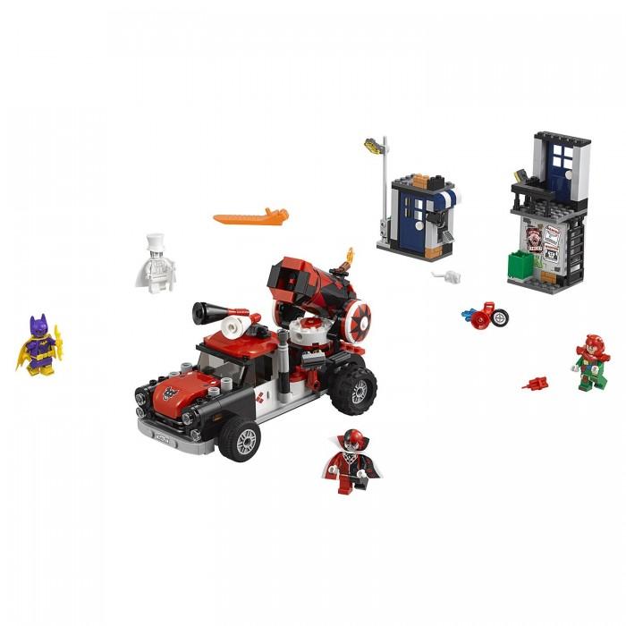 Купить Конструктор Lego Batman Movie Тяжёлая артиллерия Харли Квинн