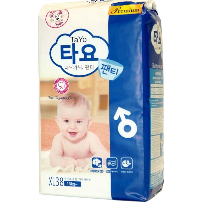 Гигиена и здоровье , Подгузники TaYo Подгузники-трусики для мальчиков XL (13-18 кг) 38 шт. арт: 454214 -  Подгузники