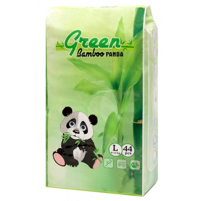 Гигиена и здоровье , Подгузники Green Bamboo Panda Подгузники-трусики L (9-14 кг) 44 шт. арт: 454249 -  Подгузники