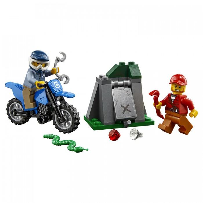 Lego Lego City Police Погоня на внедорожниках 1110 city series police swat car model building block bricks diy toys children compatible legoes gift kid set city policeman