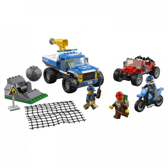 Lego Lego City Police Погоня по грунтовой дороге lego горный внедорожник 70589