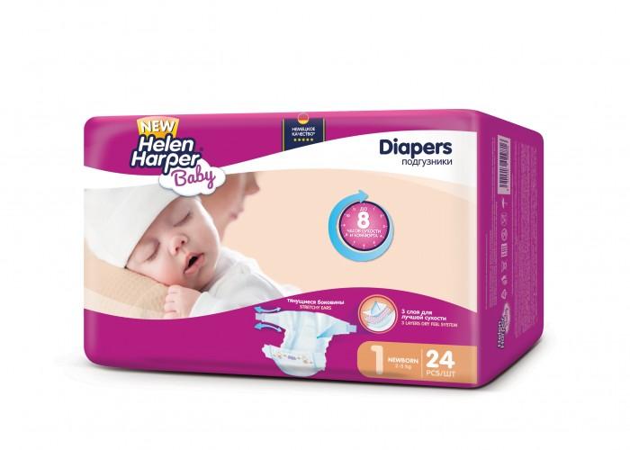 Подгузники Helen Harper Подгузники Baby Newborn (2-5 кг) 24 шт. helen harper подгузники newborn 2 5 кг 24 шт