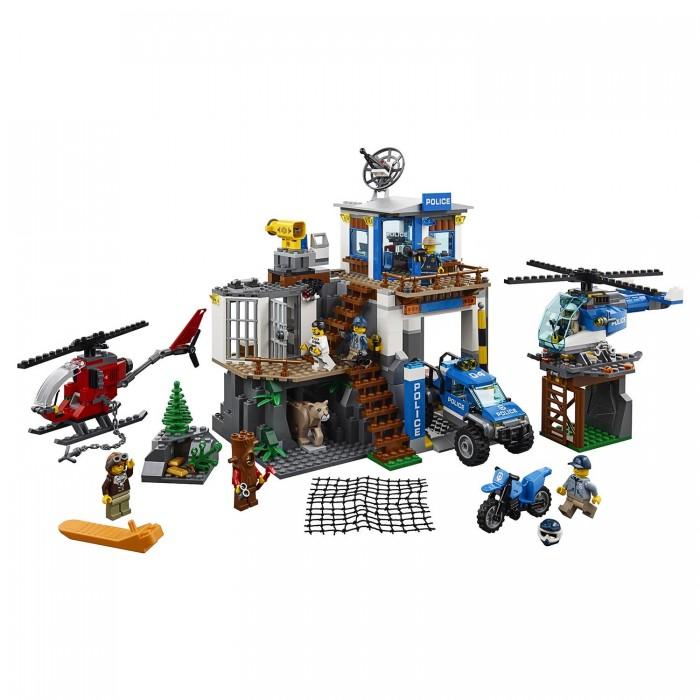 Конструктор Lego City Police Полицейский участок в горах