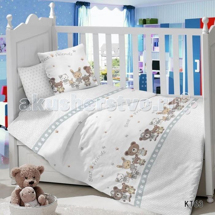 Постельное белье Dream Time BLK-46-SP-341-1/2C (3 предмета) постельное белье dream time кружочки 3 предмета