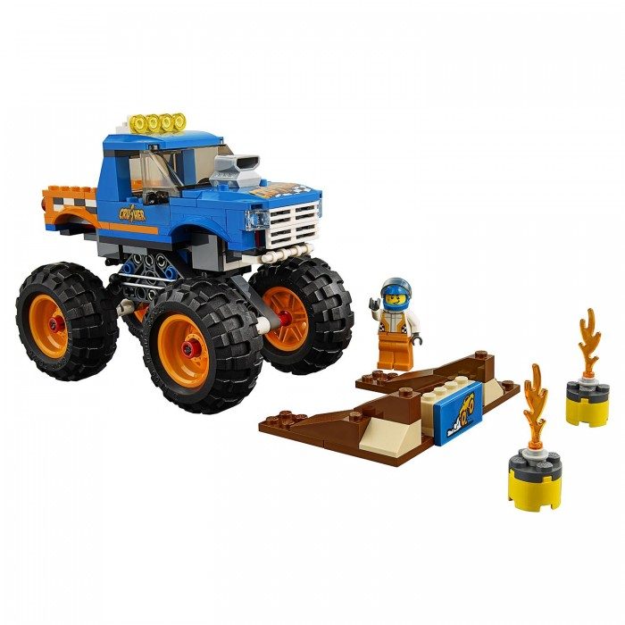 Lego Lego City Great Vehicles Монстр-трак lego city great vehicles буксировщик автомобилей 60081