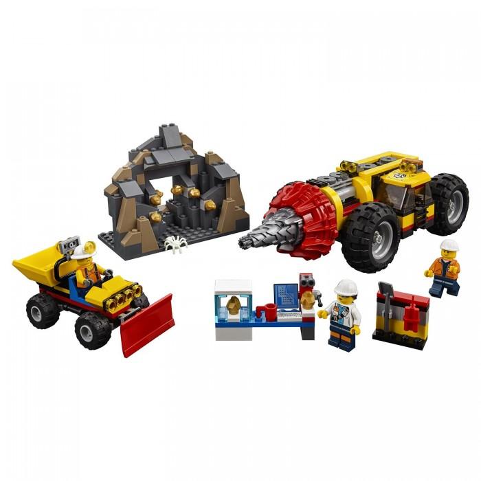 Купить Конструктор Lego City Mining Тяжелый бур для горных работ