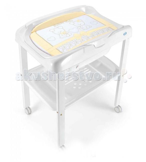 Пеленальный столик Pali Smart Maison BabeSmart Maison BabeЭлегантный Пеленальный столик Pali Smart Maison Babe со съемной пеленальной поверхностью и ванночкой можно установить как в комнате, так и ванной. Стол оснащен полочками и кармашками для банных принадлежностей и разных мелочей.  Для купания, пеленания и ухода за ребенком от 0 до 12 месяцев Основание из древесины бука Покрыт нетоксичными краской и лаком Высокая влагоустойчивость Установлен на колеса с блокировкой Пеленальный матрасик на липучках Ванночка имеет сливное отверстие и шланг Две полки с ячейками Размер в разложенном виде (шхгхв): 79 х 53 х 101 см<br>