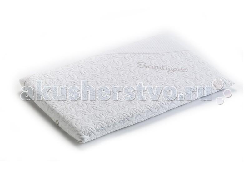 Подушки для малыша Pali Подушка Med матрасы candide дышащий со съемным чехлом 60х120x11 см