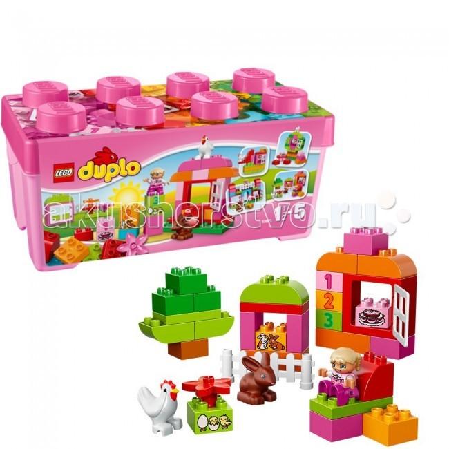 Lego Lego Duplo 10571 Лего Дупло Лучшие друзья: курочка и кролик lego duplo 10508 лего дупло большой поезд