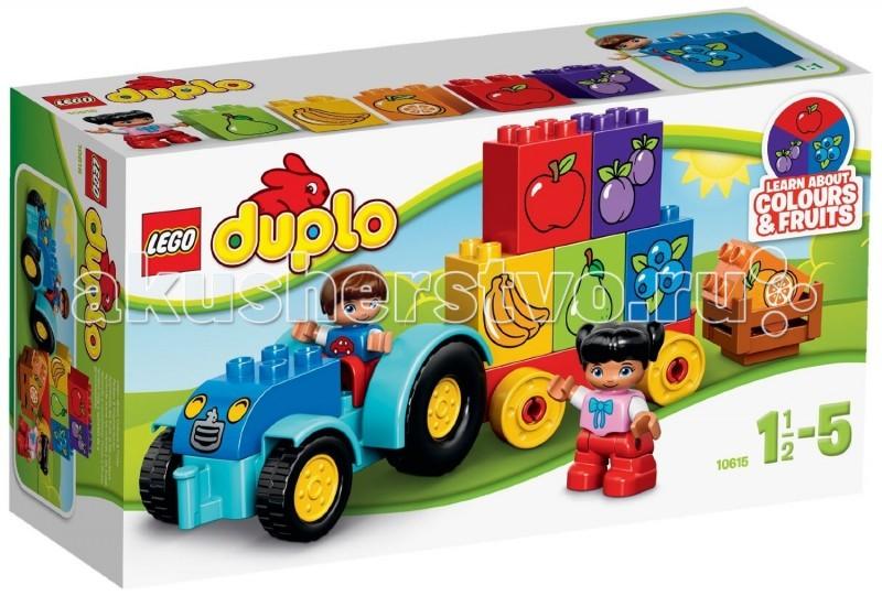 Lego Lego Duplo 10615 Лего Дупло Мой первый трактор lego education preschool 9076 набор с трубками duplo