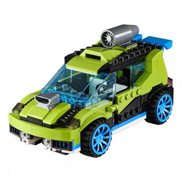 Lego Lego Creator Суперскоростной раллийный автомобиль автомобиль автомобиль иж 2717 в воронеже