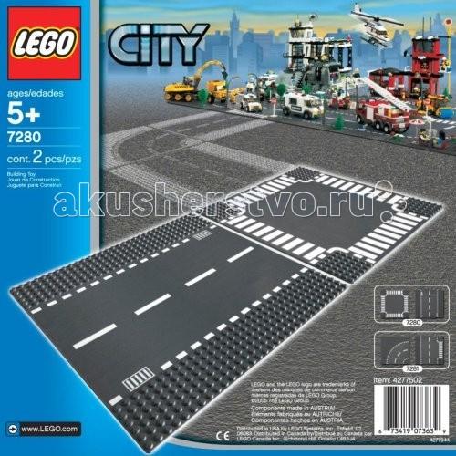 Lego Lego City 7280 Перекресток lego 60139 город мобильный командный центр