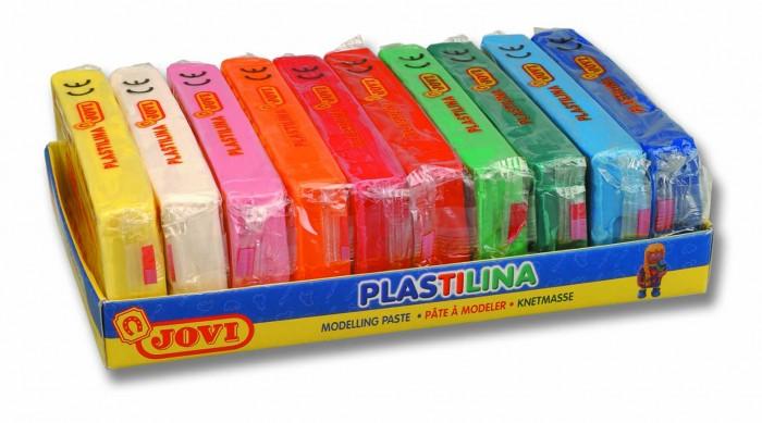 Всё для лепки Jovi Пластилин 10 цветов по 150 г всё для лепки lori пластилин классика 16 цветов