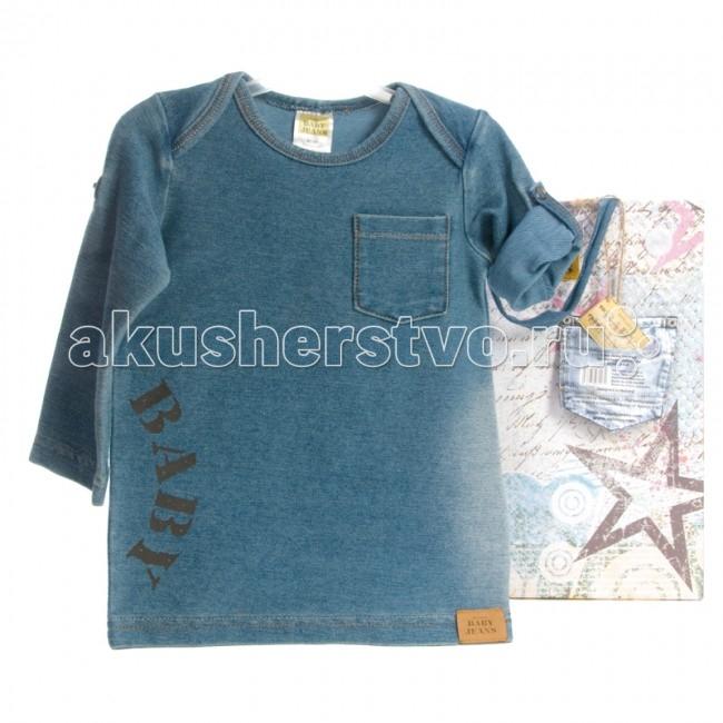 Xplorys Футболка Baby Jeans длинный рукав 62/68