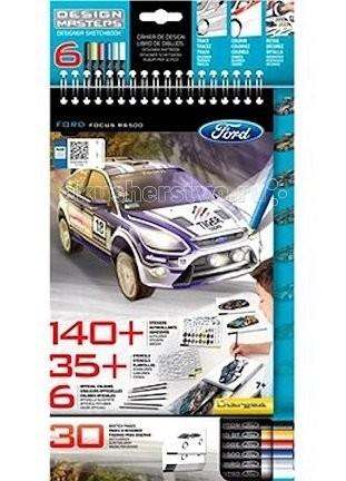 Наборы для творчества Wooky Design Masters Блокнот Ford Focus RS500 наборы для творчества wooky style me up стильные кольца