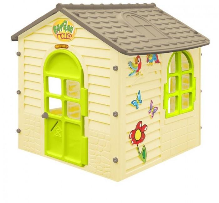 Фото - Игровые домики Mochtoys Игровой Домик детский mochtoys раскраска картонный домик 10721