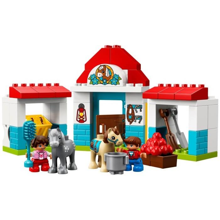 Купить Конструктор Lego Duplo Town Конюшня на ферме