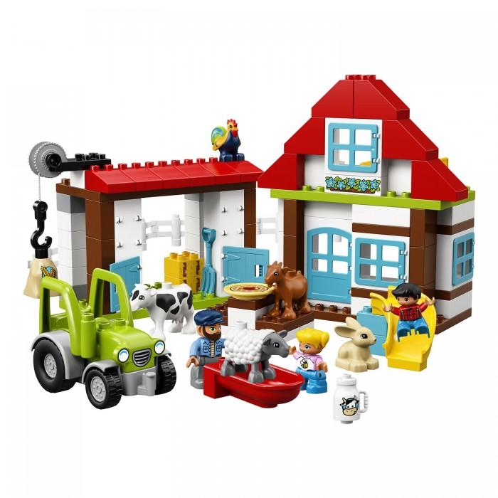 Lego Lego Duplo Town День на ферме как дом в деревне на мат капиталл