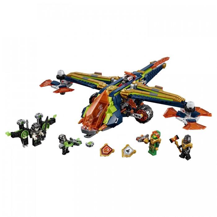 Lego Lego Nexo Knights Аэро-арбалет Аарона lego горный внедорожник 70589