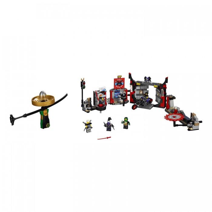 Lego Lego Ninjago Штаб-квартира Сынов Гармадона игровой набор poli штаб квартира
