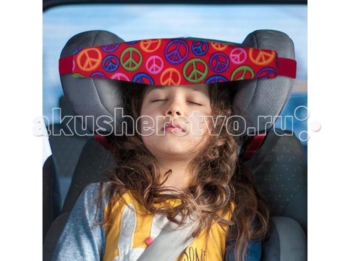 Аксессуары для автокресел Клювонос Фиксатор головы ребенка для автокресла Мир фиксатор двери мир детства мишка