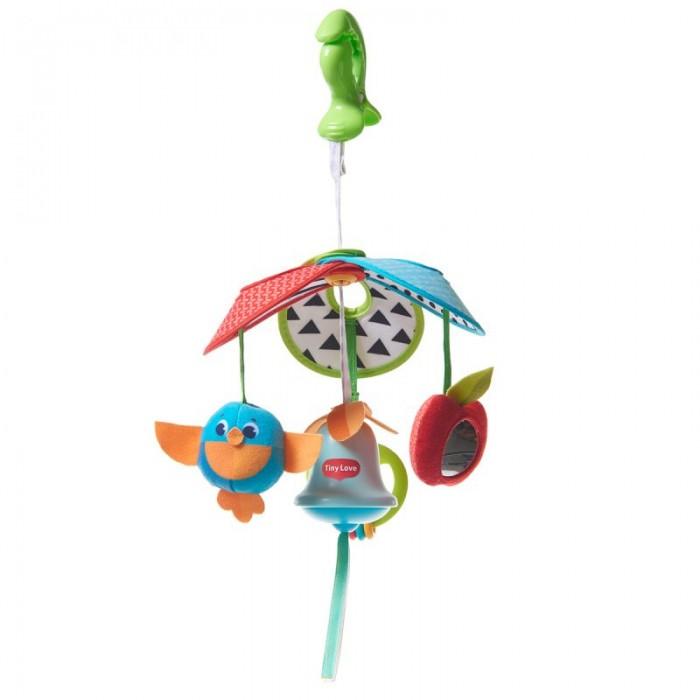 Подвесные игрушки Tiny Love Механический подвес на коляску Солнечная полянка раскраска солнечная полянка напольная 9575